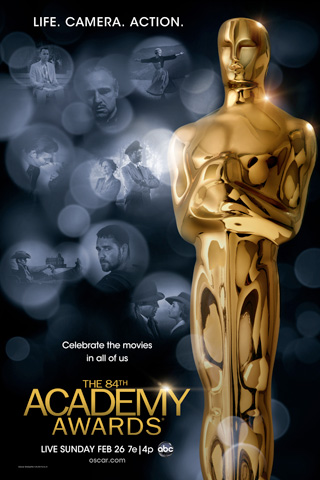 Poster for the 84th Academy Awards