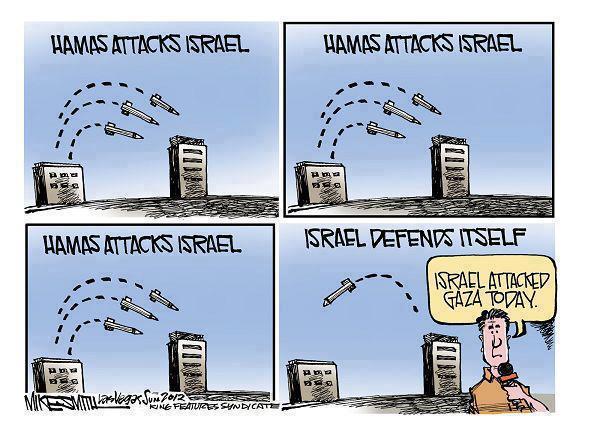 Hamas attacks Israel