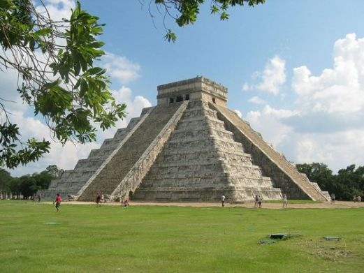 The Kukulkan Pyramid