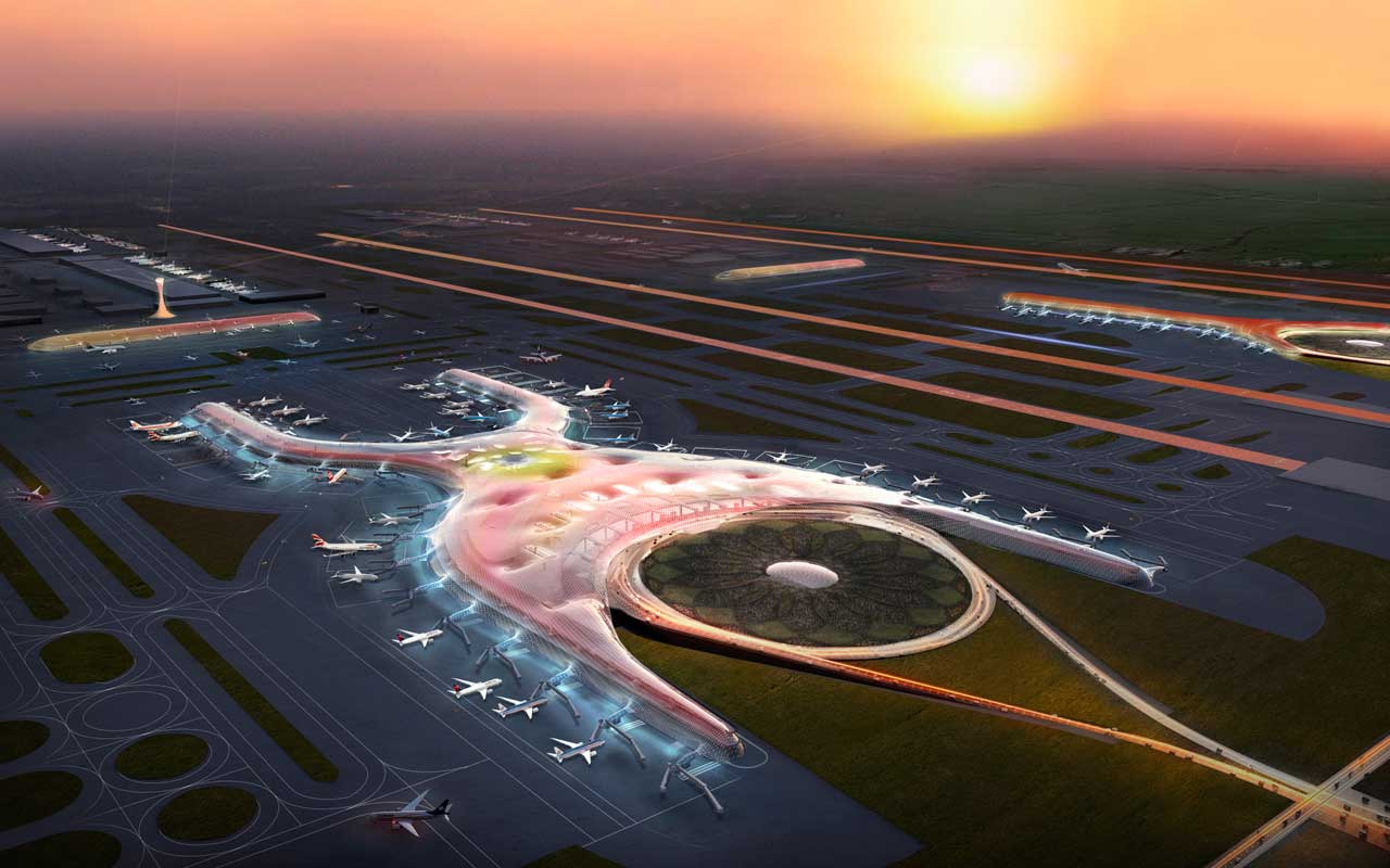 Foster + Partners and FR-EE Fernando Romero to design new international airport for Mexico City