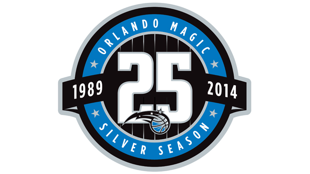 Orlando Magic Silver Season Logo