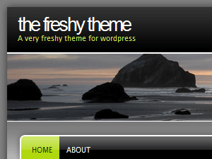 Template Freshy (WordPress)