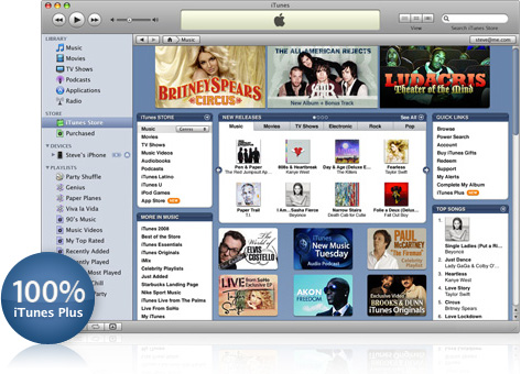 iTunes Music Store Mexico