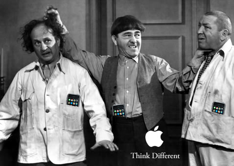 Three Stooges iPhone 3G