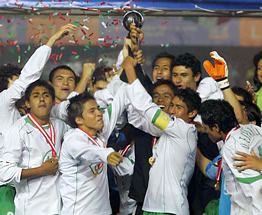 Mexico Sub-17 Campeon!